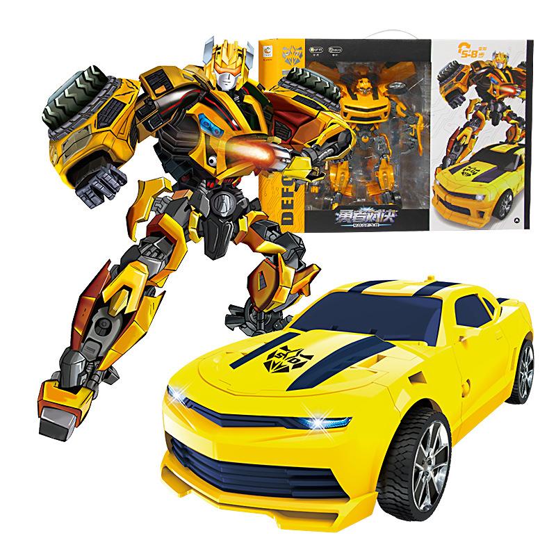 SHIDE Rôbôt / Người máy Robot biến dạng lớn Bumblebee Optimus Prime Model Thế hệ thứ năm Diamond Def