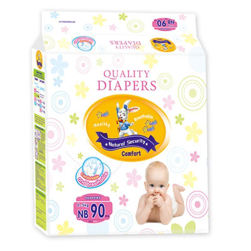 Ausmerrlee Tả giấy Tã dán bé Kao Úc siêu mỏng thoáng khí thấm tã cho bé chất lượng cao