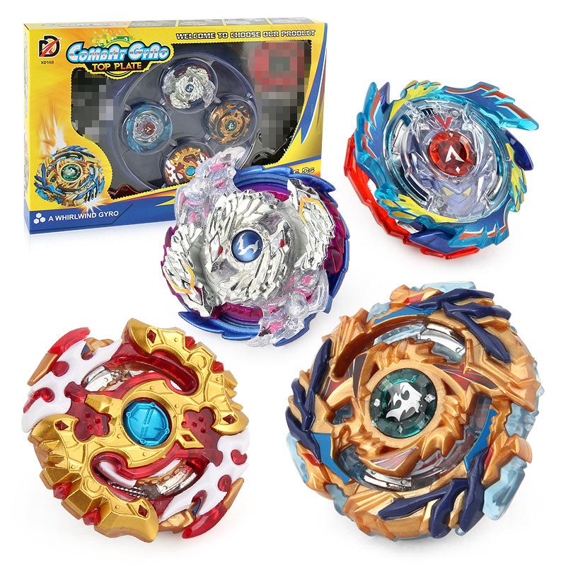 Chengke toys Bông vụ Thế hệ ngoại thương nổ DIY vành đai con quay chiến đấu cạnh tranh thiết lập vụ