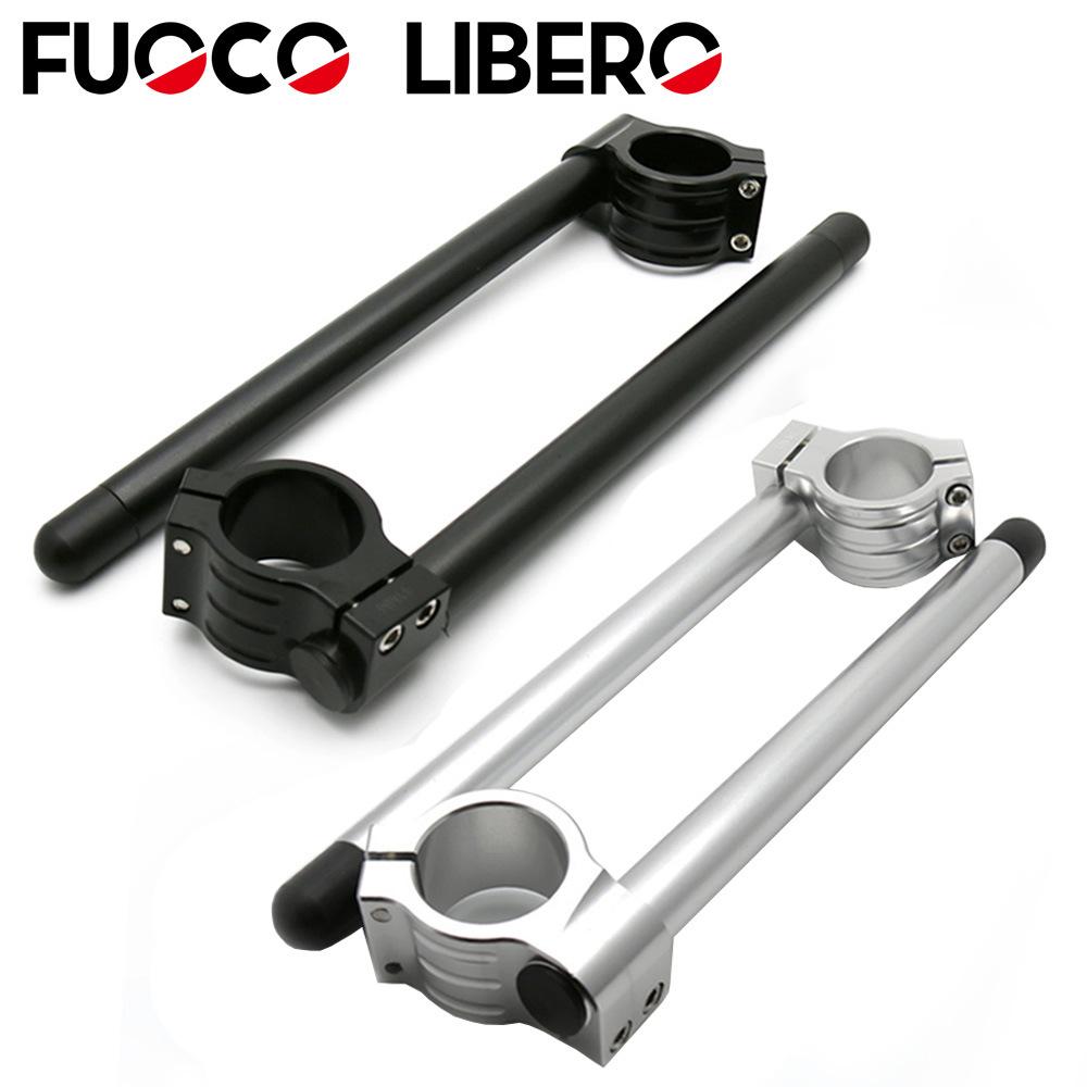 Phụ tùng xe máy sửa đổi tay lái CNC hợp kim nhôm - FUOCO LIBERO