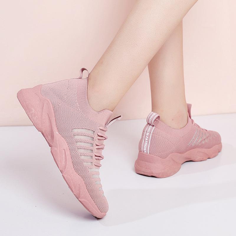 SAIPENG Thị trường giày nữ Giày nữ phổ biến 2019 hè mới Giày thể thao cho học sinh Giày nữ thoáng kh