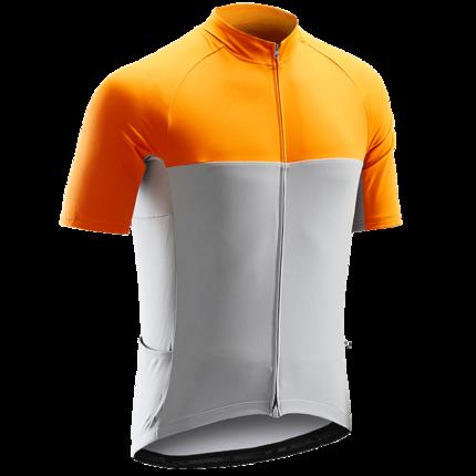 Trang phục xe đạp  Decathlon đường đi xe đạp leo núi xe đạp Jersey người đàn ông cưỡi đầu mùa hè cưỡ