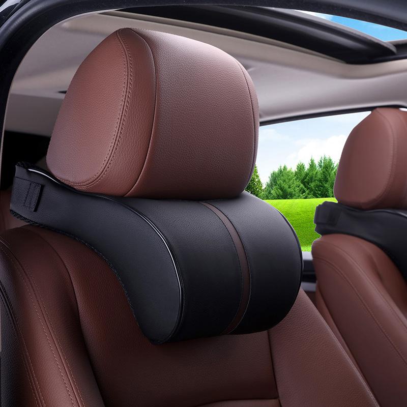 Gối đệm xe tựa đầu cho xe hơi với thiết kế sang trọng .