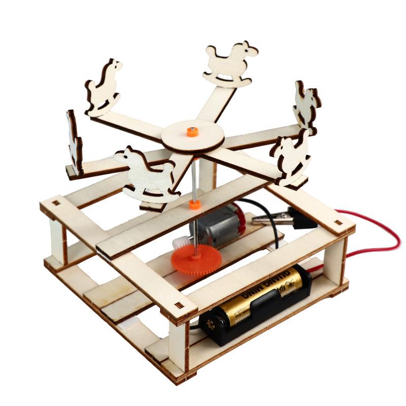 CHANGSAI Công nghệ sáng tạo sản xuất nhỏ DIY băng chuyền vật lý khoa học vật liệu thí nghiệm tiểu họ