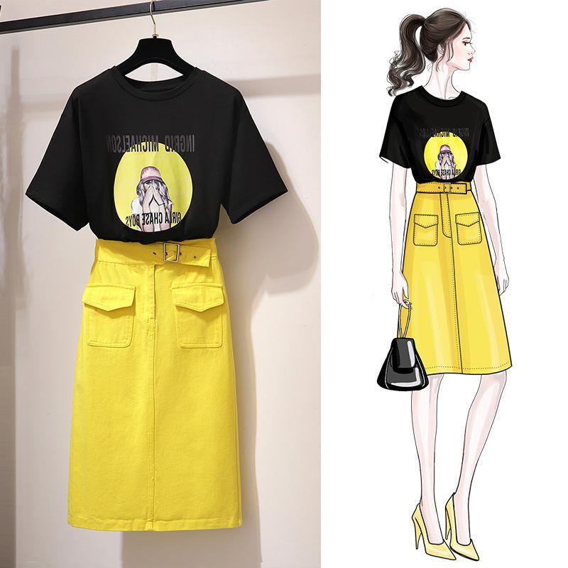 Đồ Suits Váy hè nữ xuân hè 2019 thời trang mới phiên bản Hàn Quốc của những chiếc váy mỏng phổ biến