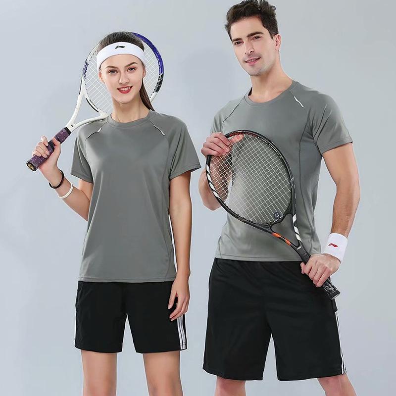Đồ chống nắng mau khô Áo thun khô nhanh in logo tùy chỉnh tay áo nhanh khô quần áo marathon chạy thể