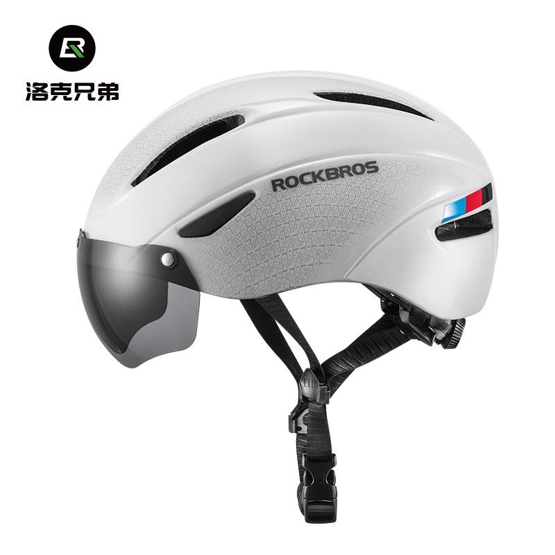 ROCKBROS Mũ bảo hiểm xe đạp Rock anh em đi xe máy mũ bảo hiểm trực tiếp đường núi xe đạp nam và nữ m