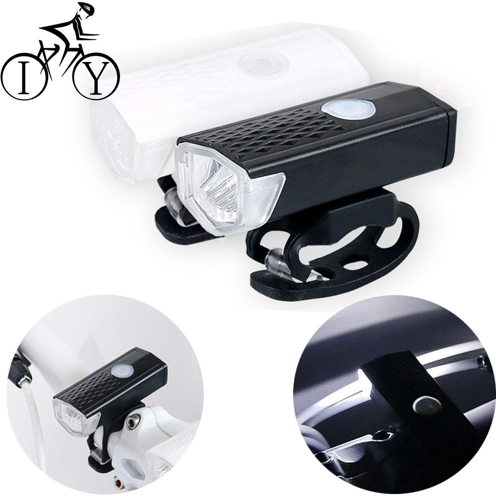 AITE Đèn xe Đèn pha xe đạp đèn hậu đặt đèn ngoài trời USB sạc đèn pha chiếu sáng không thấm nước an