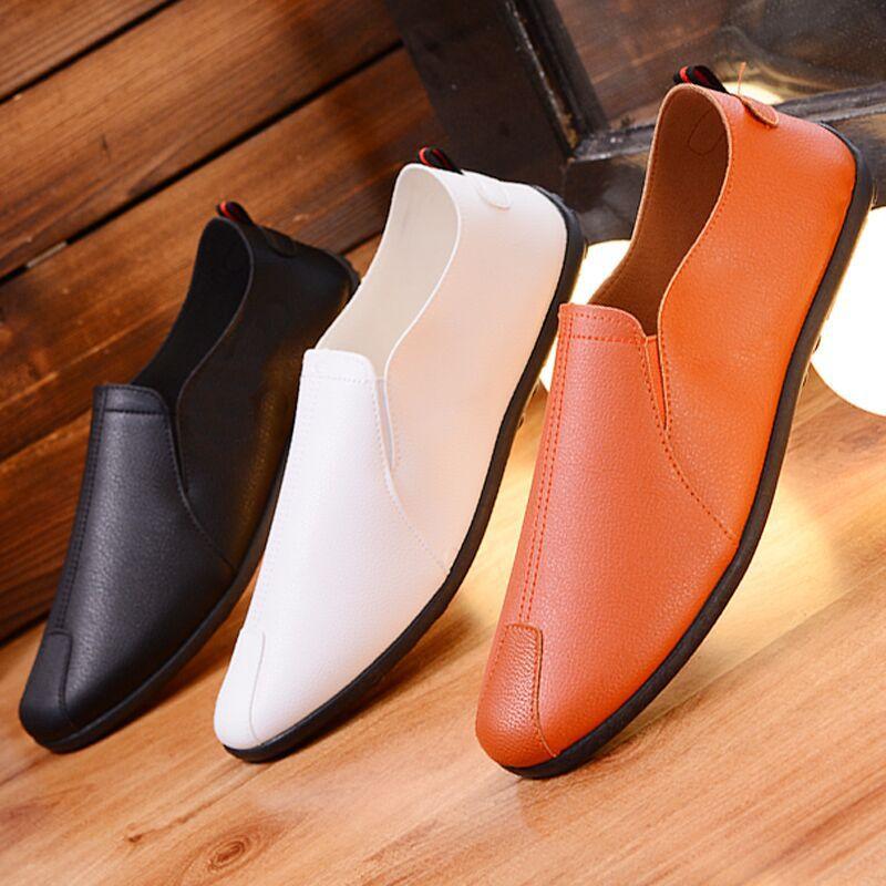 TANGZUO Giày mọi Gommino Giày đậu Hà Lan xuân hè mới 2019 Giày lười nam cổ điển Giày lười Bắc Kinh p