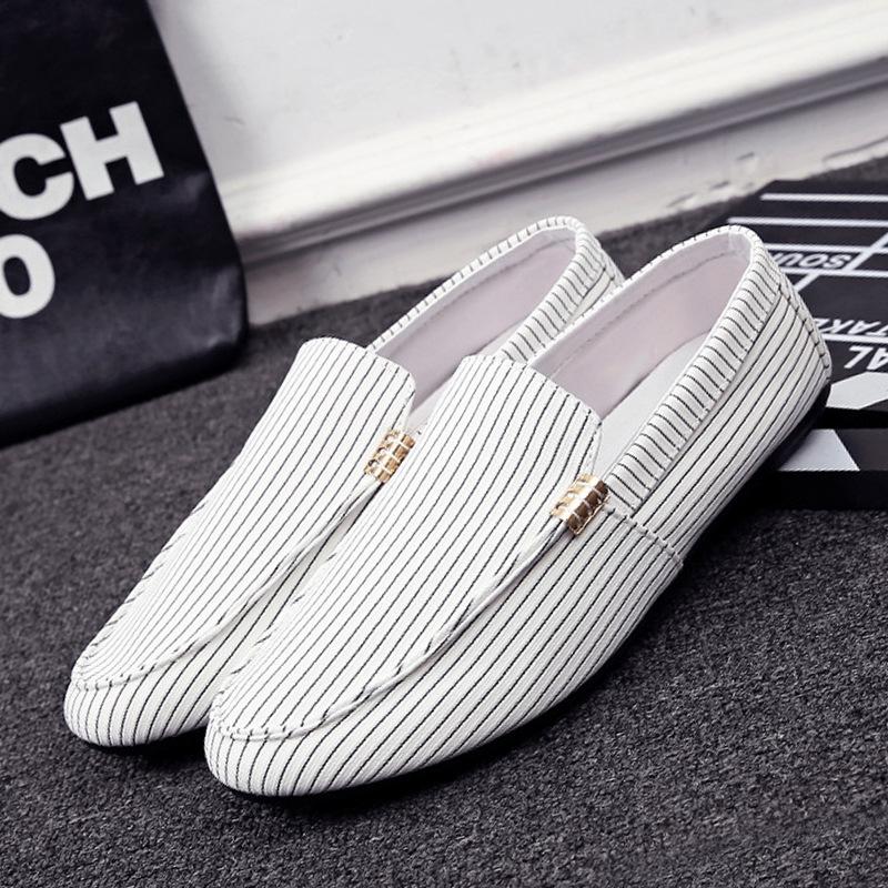 Giày mọi Gommino Cung cấp trực tiếp ban đầu duy nhất giày đậu Hà Lan giày nam giày một bàn đạp vải g