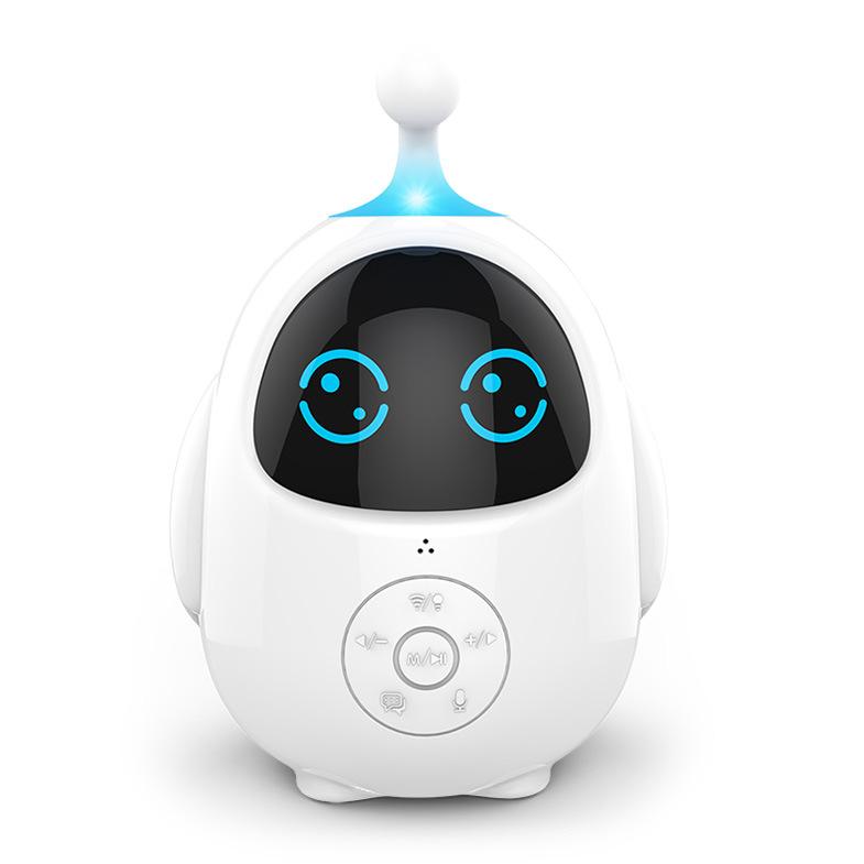 Himacom Máy học ngoại ngữ Lê bé Q trứng trẻ em thông minh giáo dục sớm robot thông minh đồng hành gi