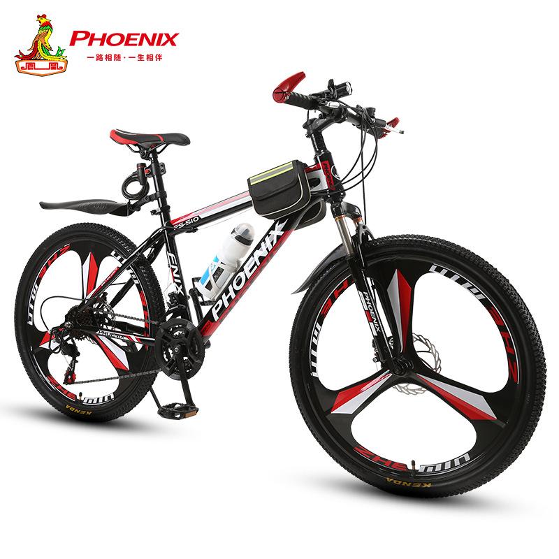 Phoenix xe đạp Âm thanh rung với chiếc xe đạp leo núi Phoenix giảm xóc dành cho người lớn 21/27 phan