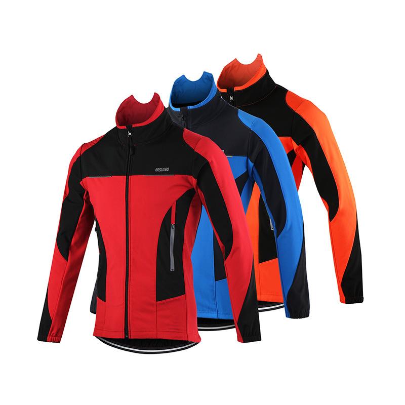 ARSUXEO Các nhà sản xuất phát hiện arsuxeo mùa thu và mùa đông lông cừu chống gió ấm áp áo khoác dài