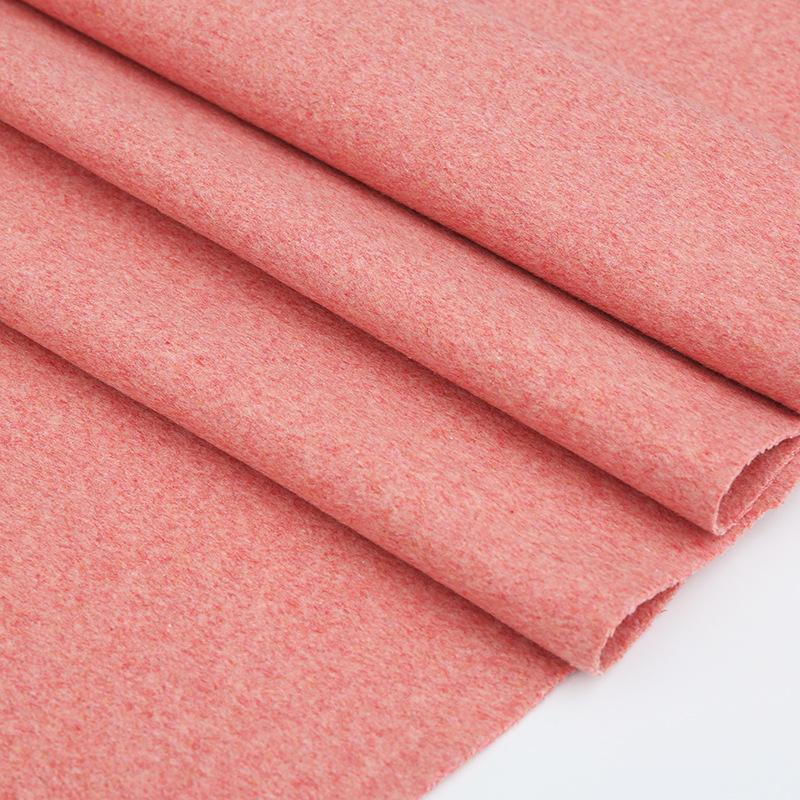 YUANHANG Vải dệt may 2019 mới mùa thu và mùa đông vải len hai mặt áo len thời trang phù hợp với áo k