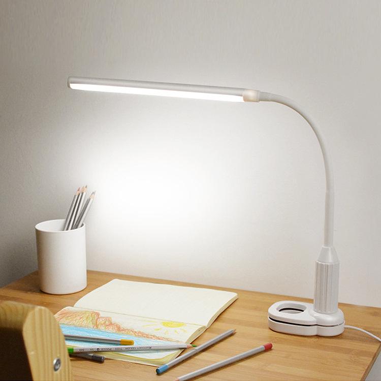 Đèn bàn Clip đèn bàn led mini cuốn sách clip học sinh ký túc xá nghiên cứu phòng ngủ cạnh giường ngủ