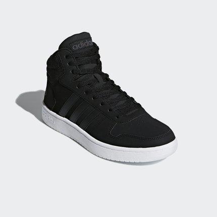 Giày Sneaker / Giày trượt ván Adidas Giày thể thao nam Adidas neo HOOPS 2.0 MID màu đen 1st DB0113