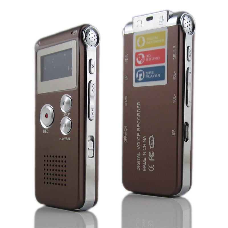OEM Máy ghi âm HD 4GB ghi âm chuyên nghiệp Máy nghe nhạc MP3