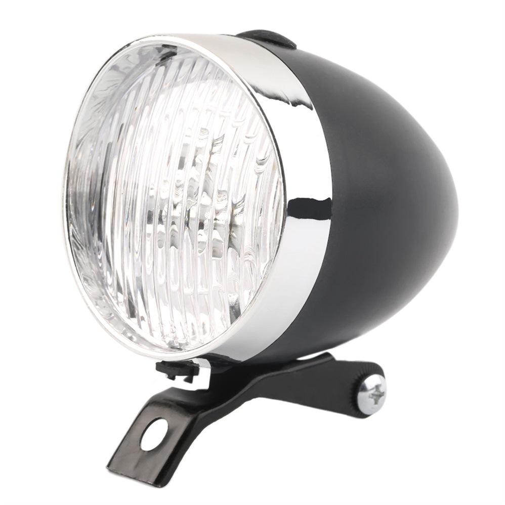 HAWEIWIND Đèn xe đạp đêm cảnh báo an toàn đèn 3led retro xe đạp an toàn thiết bị cưỡi đèn pha xe đạp