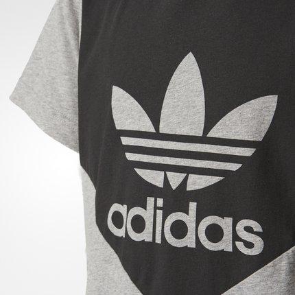 Thị trường trang phục trẻ em  Adidas chính thức Adidas clover nam áo sơ mi nam ngắn tay BQ3987