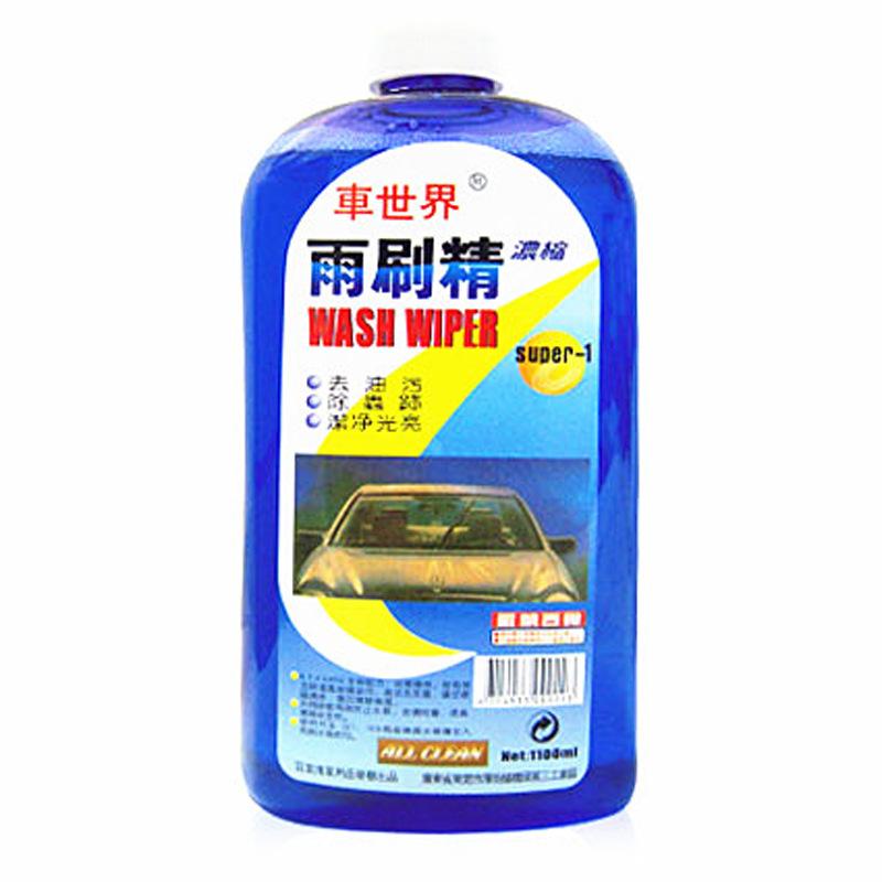 Nước rửa kính cho Cần gạt nước xe hơi .