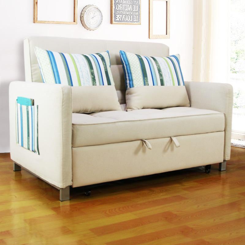 BIAOKA thị trường nội thất , đèn Nhà máy trực tiếp đa chức năng phòng khách vải sofa có thể gập lại