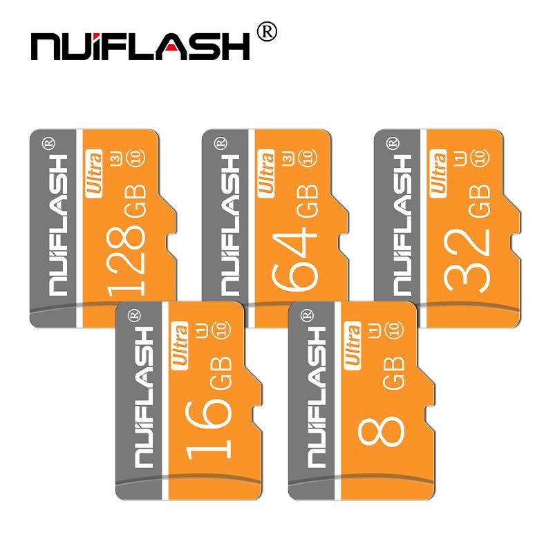 NUIFLASH Thẻ nhớ Nhà máy trực tiếp thẻ nhớ 8g Thẻ 16Gtf Thẻ 4gTF Thẻ nhớ điện thoại di động 32g 64gC