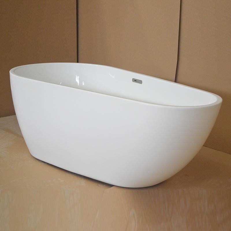 HSBN Bồn đứng tắm Bán buôn hộ gia đình acrylic bồn tắm người lớn bồn tắm đôi khách sạn đôi bồn tắm l