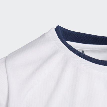 Thị trường trang phục trẻ em Adidas chính thức Adidas big boy đào tạo áo sơ mi ngắn tay DU9754 DU978