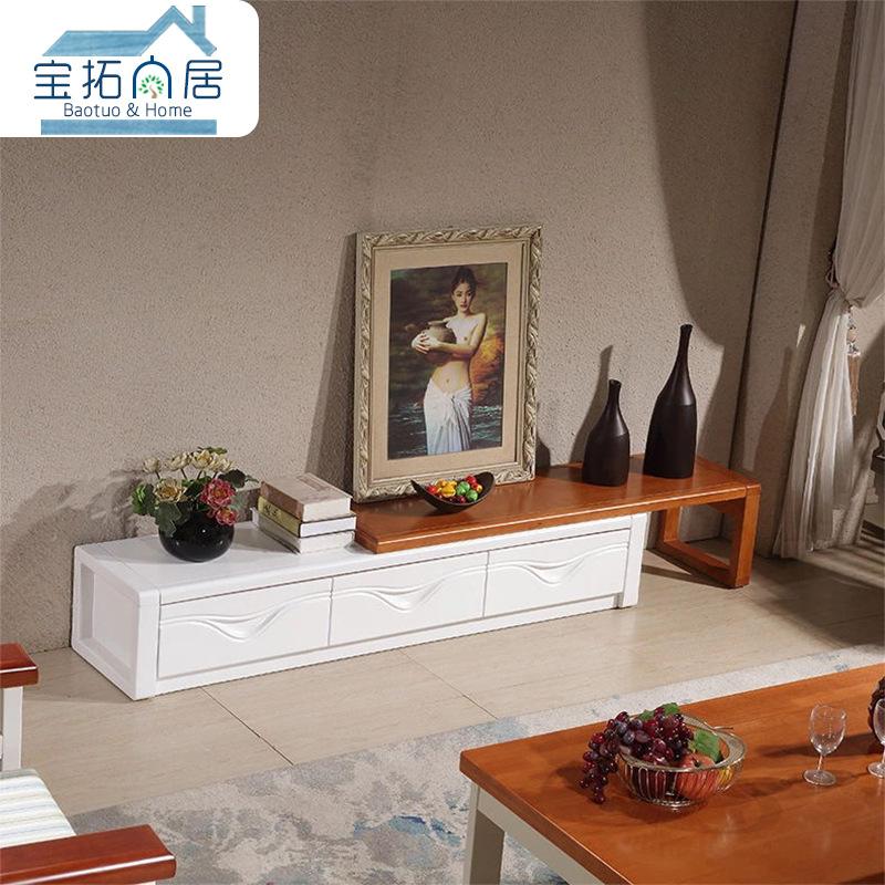 BAOTUO Kệ Tivi Nhà máy trực tiếp mới Trung Quốc kính viễn vọng tủ TV căn hộ nhỏ phòng khách đơn giản