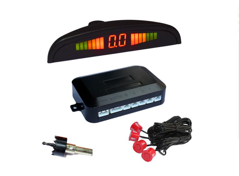 YONGBA Radar cảm biến lùi xe Nhà máy trực tiếp bán xe nói chung radar lưỡi liềm còi LED đảo ngược hệ
