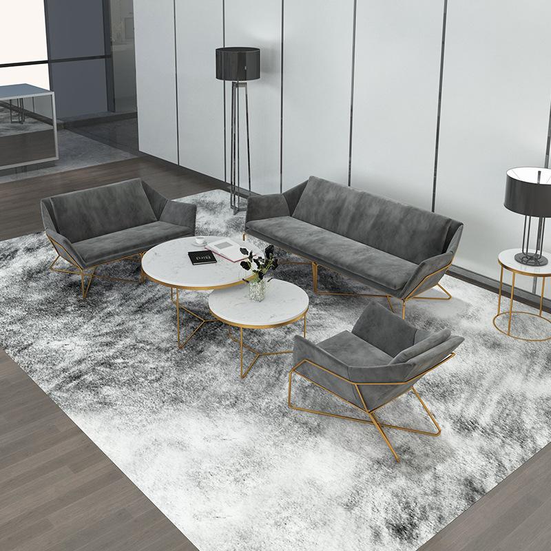 MINXINYUE Ghế Sofa Bắc Âu văn phòng khách sạn kết hợp sofa khách sạn phòng chờ ghế sofa thẻ cafe ánh