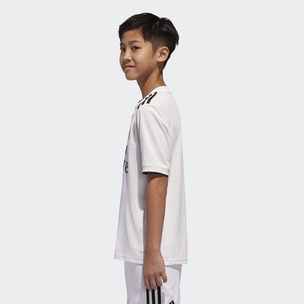 Thị trường trang phục trẻ em  Adidas chính thức đá bóng lớn cho trẻ em nhà Real Madrid phù hợp với t