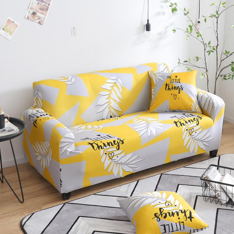 LANCHONGCHONG Vỏ bọc Sofa Tùy chỉnh bao gồm tất cả bao gồm sofa bìa In sofa bọc đàn hồi bụi che phủ