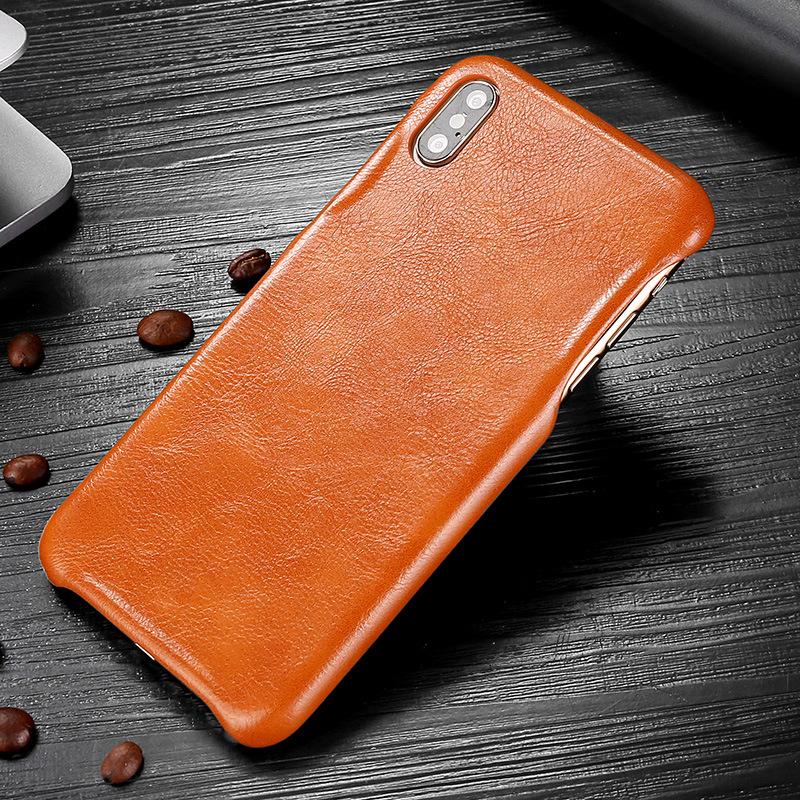 K'try bao da điện thoại Thích hợp cho iPhone 6/7/8 plus / X / XS / XR dầu sáp mẫu vỏ điện thoại di