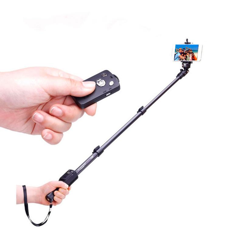 Yunteng Gây tự sướng 1288 Bluetooth Selfie Sticker Điện thoại di động Bluetooth Remote Selfie Artifa