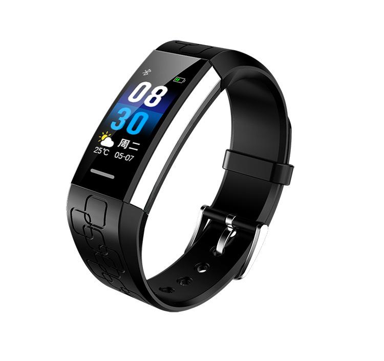 Vòng đeo tay thông minh MJ02 - ECG nhắc nhở nhịp tim đo huyết Áp