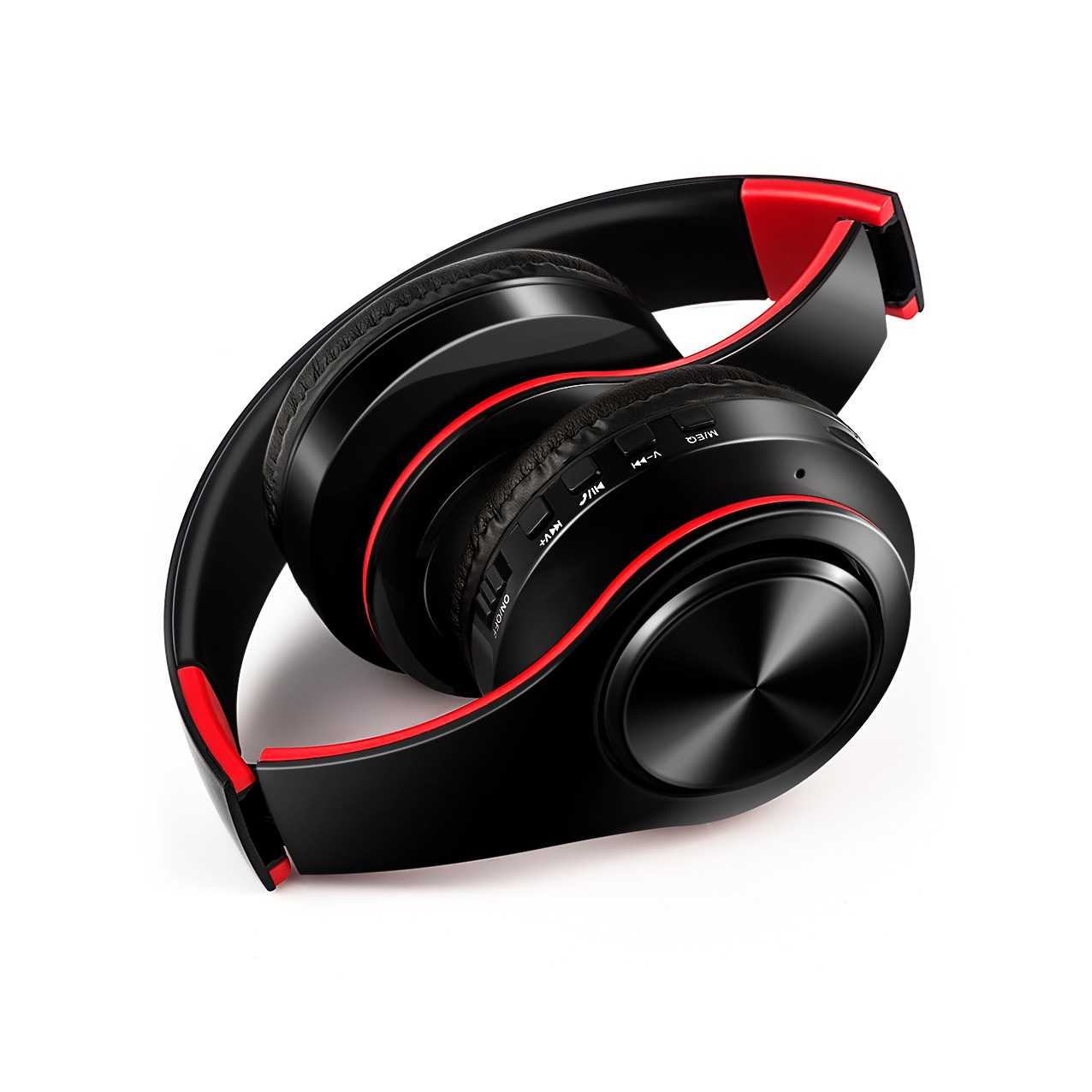 ZHONGXING Tai nghe Bluetooth Tai nghe không dây gấp nhiều màu nóng Tai nghe Bluetooth thể thao cắm t