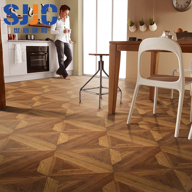 Gạch men sứ Gỗ phong cách Bắc Âu và Mỹ hạt gạch cổ 600 * 600 sàn gạch phòng khách ban công phòng ngủ
