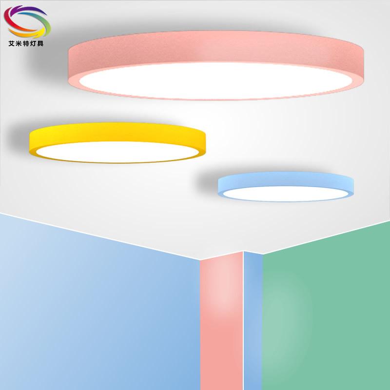 đèn ốp trần Các nhà sản xuất bán buôn macarons LED đèn trần Tianyuan mẫu giáo phòng trẻ em phòng ngủ