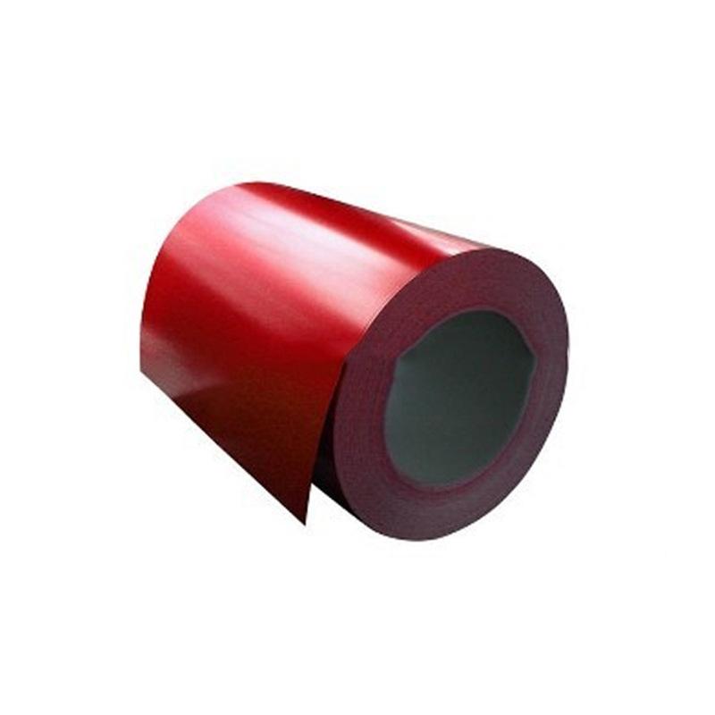 Mạ màu Thép màu cuộn thép tấm kim loại vật liệu xây dựng màu thép cuộn thép màu cuộn thép xử lý sâu