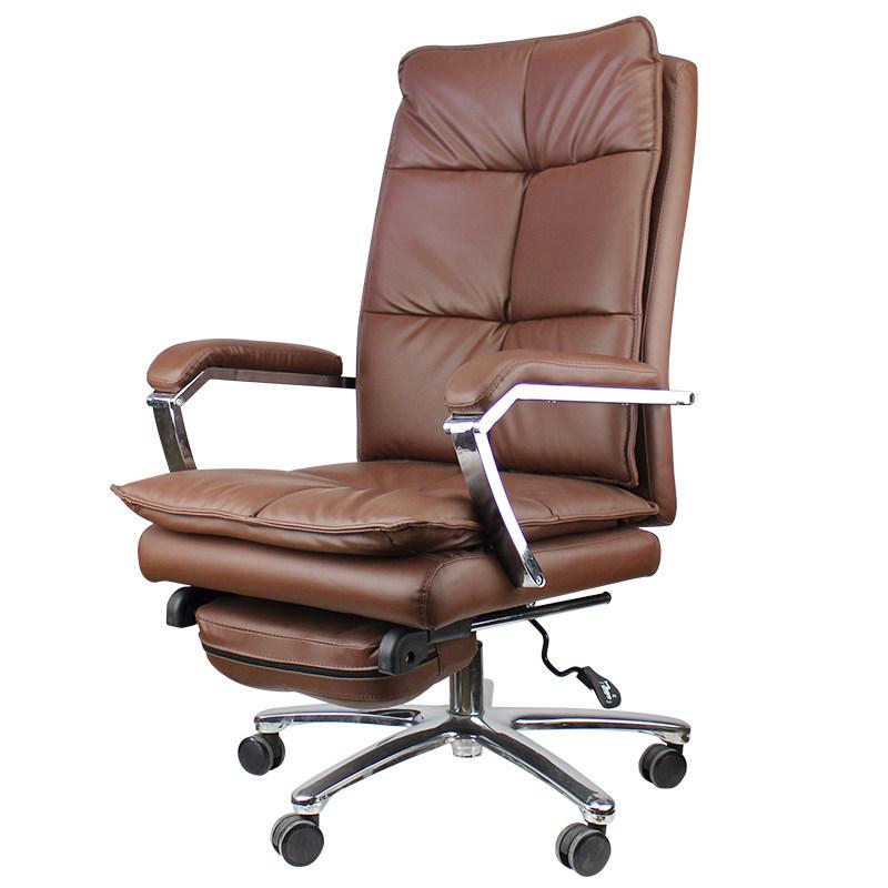 ZHONGYANG ghế văn phòng Ghế máy tính nhà ông chủ ghế da ngả ghế xoay ghế học tập hiện đại tối giản