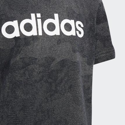 Thị trường trang phục trẻ em  Adidas chính thức Adidas big boy đào tạo áo sơ mi ngắn tay DY4064 DY40