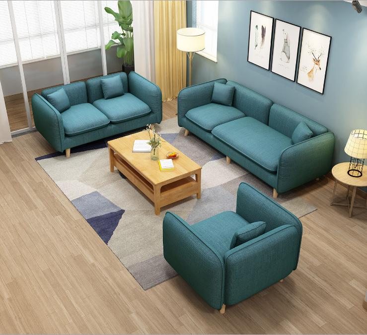 TAOTAOMU Ghế Sofa Sofa vải Bắc Âu sofa nhỏ căn hộ hiện đại tối giản phòng khách văn phòng đồ nội thấ