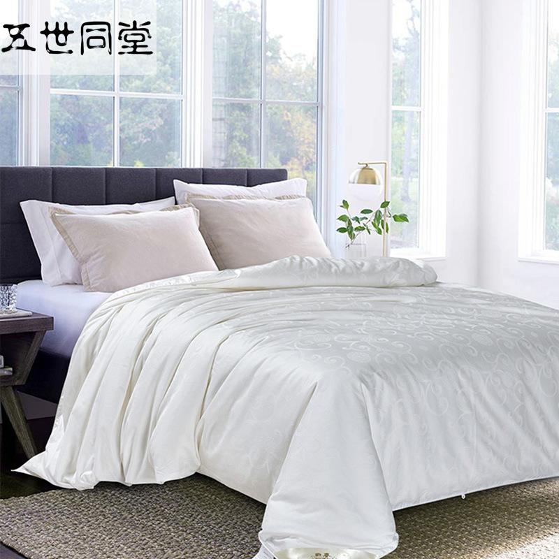 WSTT Mền tơ tằm Chọn lụa Shuanggong đã cưới mẹ và cốt lõi là lụa tơ tằm nguyên chất bán buôn mát mẻ