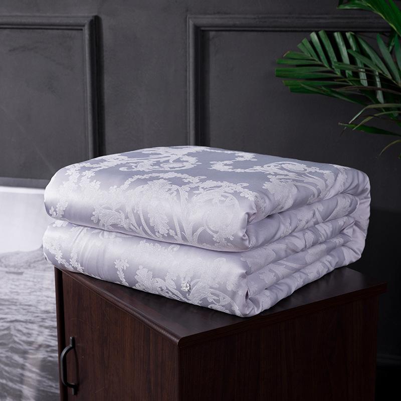 HAOHAN Mền tơ tằm Mô hình mùa hè 2019 lụa tơ tằm Tencel là nhà máy sản xuất bán hàng trực tiếp mùa h