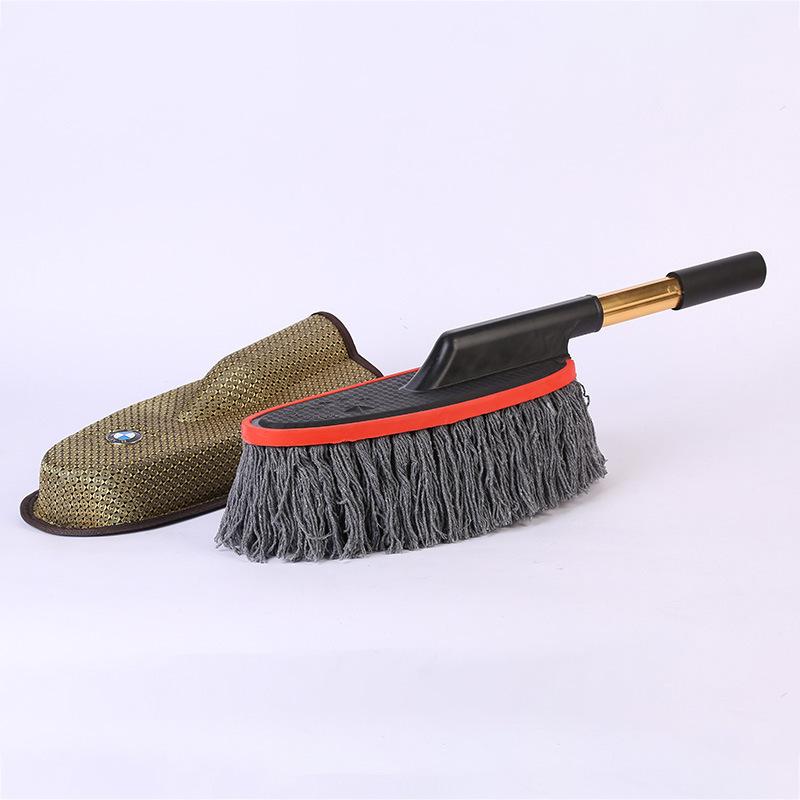 JINJU bàn chải sáp Nhà máy trực tiếp Bàn chải sáp xoay 360 độ Công cụ làm sạch xe Bàn chải rửa xe Rử