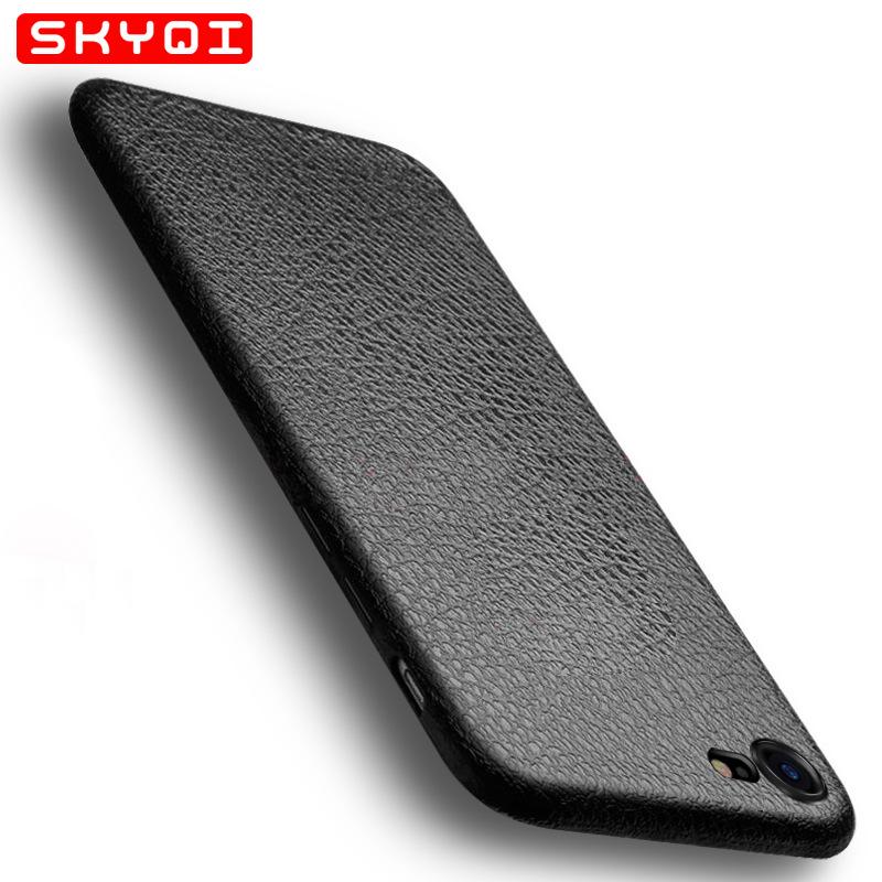 SKYQI Cửa hàng phụ kiện chất lượng cao Áp dụng cho iPhone7 Mobile Shell Apple Slim TPU Mobile Shell