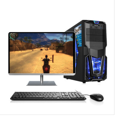 Máy vi tính để bàn Tám máy tính chủ lắp ráp máy chủ văn phòng máy tính để bàn lol trò chơi 8G một mì