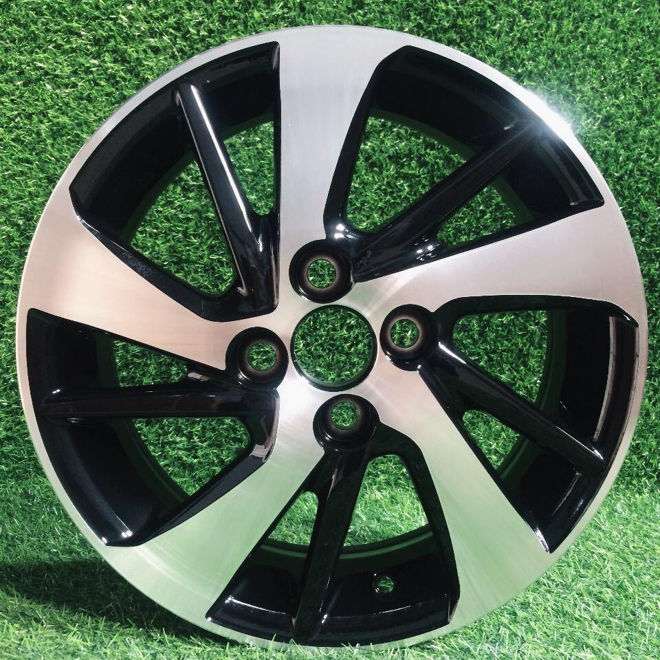 DEZHONG căm xe Bán trực tiếp nhà máy Cho Toyota 15 inch làm lóa mắt bánh xe hợp kim nhôm Vios Coroll