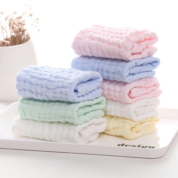 FEIFEI khăn tay Nhà máy sản xuất khăn trực tiếp nước bọt cho bé bằng khăn mềm và thoải mái sáu lớp g